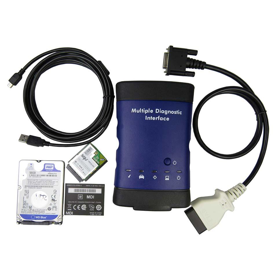 2018 nouvelle Interface de Diagnostic Multiple d'opel MDI Wifi G-M MDI OBD2 outil de Diagnostic de voiture multi-langue OBD 2 Scanner automatique