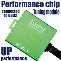 Módulo de sintonización de chip de rendimiento EITTAR OBD2 OBDII excelente rendimiento para GMC Acadia (Acadia) 2007 +