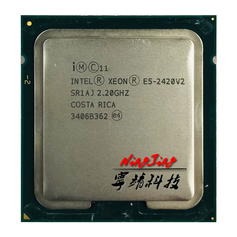 Intel Xeon E5 2420v2 E5 2420v2 E5 2420 v2 2.2 GHz Six Core Twelve Thread CPU Processor 15M 8W LGA 1356-in CPUs from Computer & Office