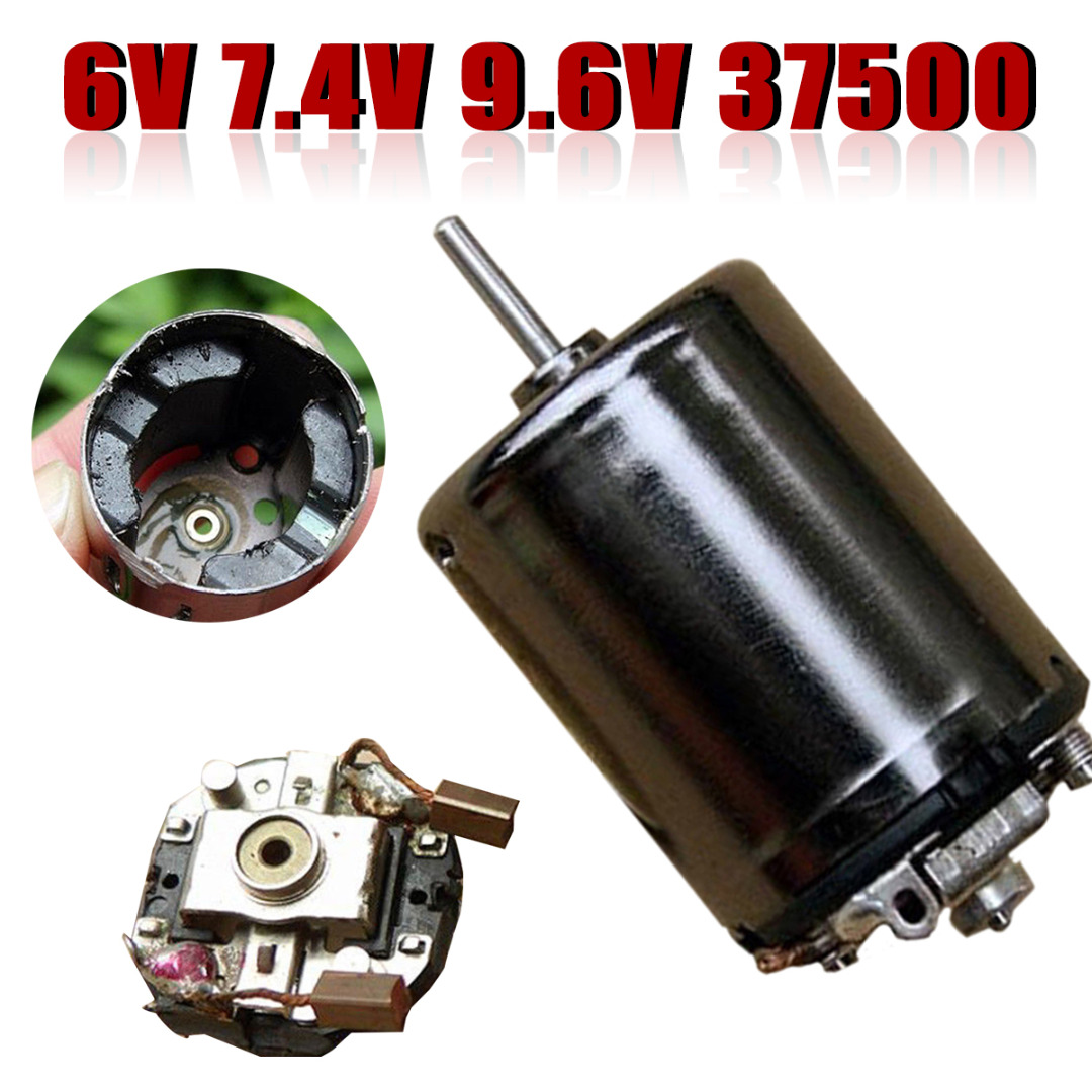1Pcs New <font><b>DC</b></font> 6V 7.4V 9.6V 37500RPM High Speed Large Torque 370 <font><b>Motor</b></font> DIY RC Car Boat For <font><b>Motor</b></font> Parts Accessories image