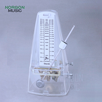 Cherub Plastic Piano Violin Mechanical Metronome Traditional tower shape Spring Mechanism Stringed Instrument WSM 330