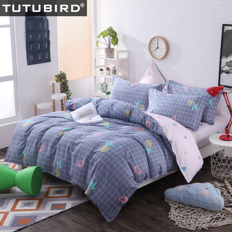 100% cotton queen size bedding blue palid bedspread bedlinen sheet for boy girl adult 4pcs duvet cover pillowecase home textile 100% cotton queen size bedding blue palid bedspread bedlinen sheet for boy girl adult 4pcs duvet cover pillowecase home textile