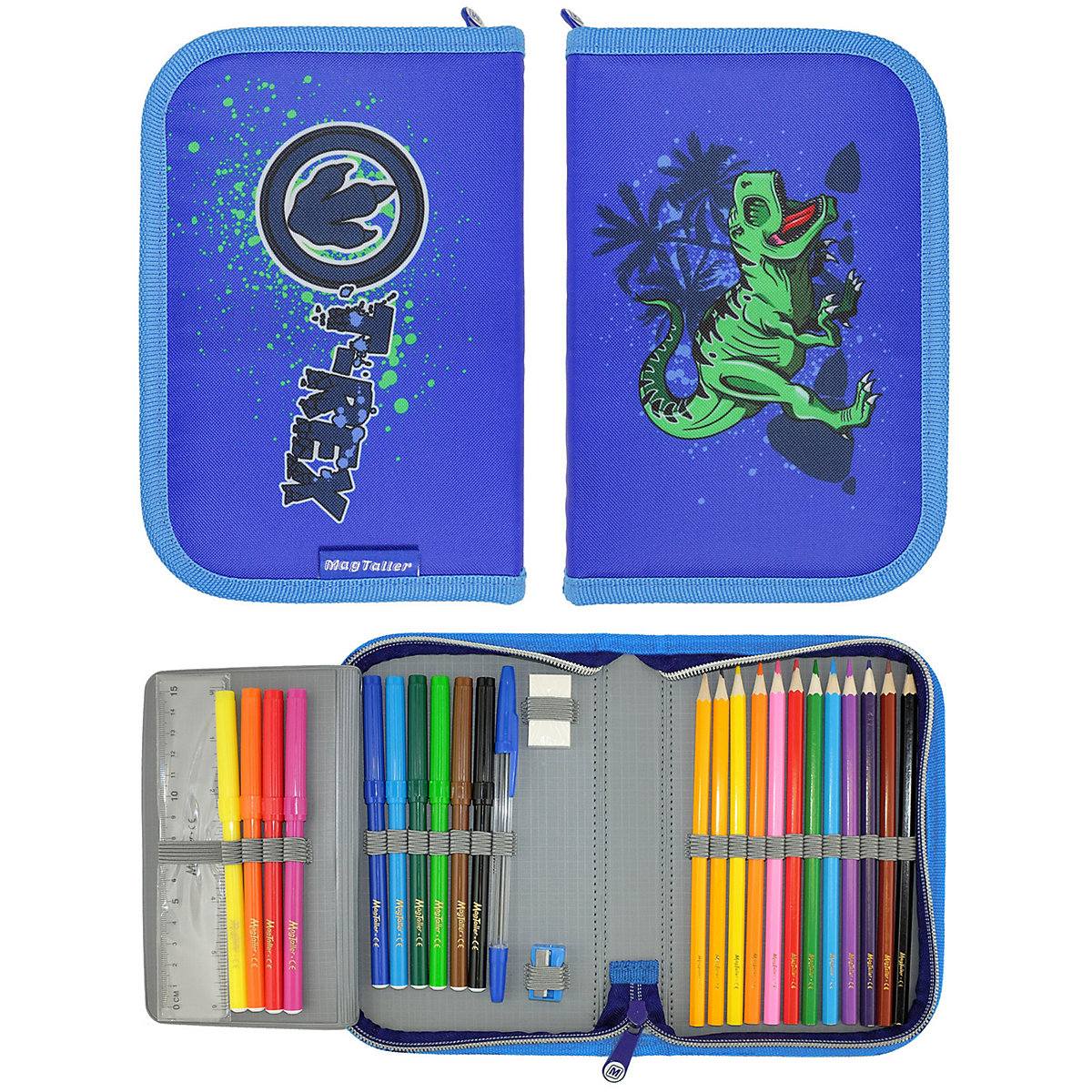 Фото - Pencil Cases MAGTALLER 11154864 school supplies stationery pencil cases for girls and boys drawing cases