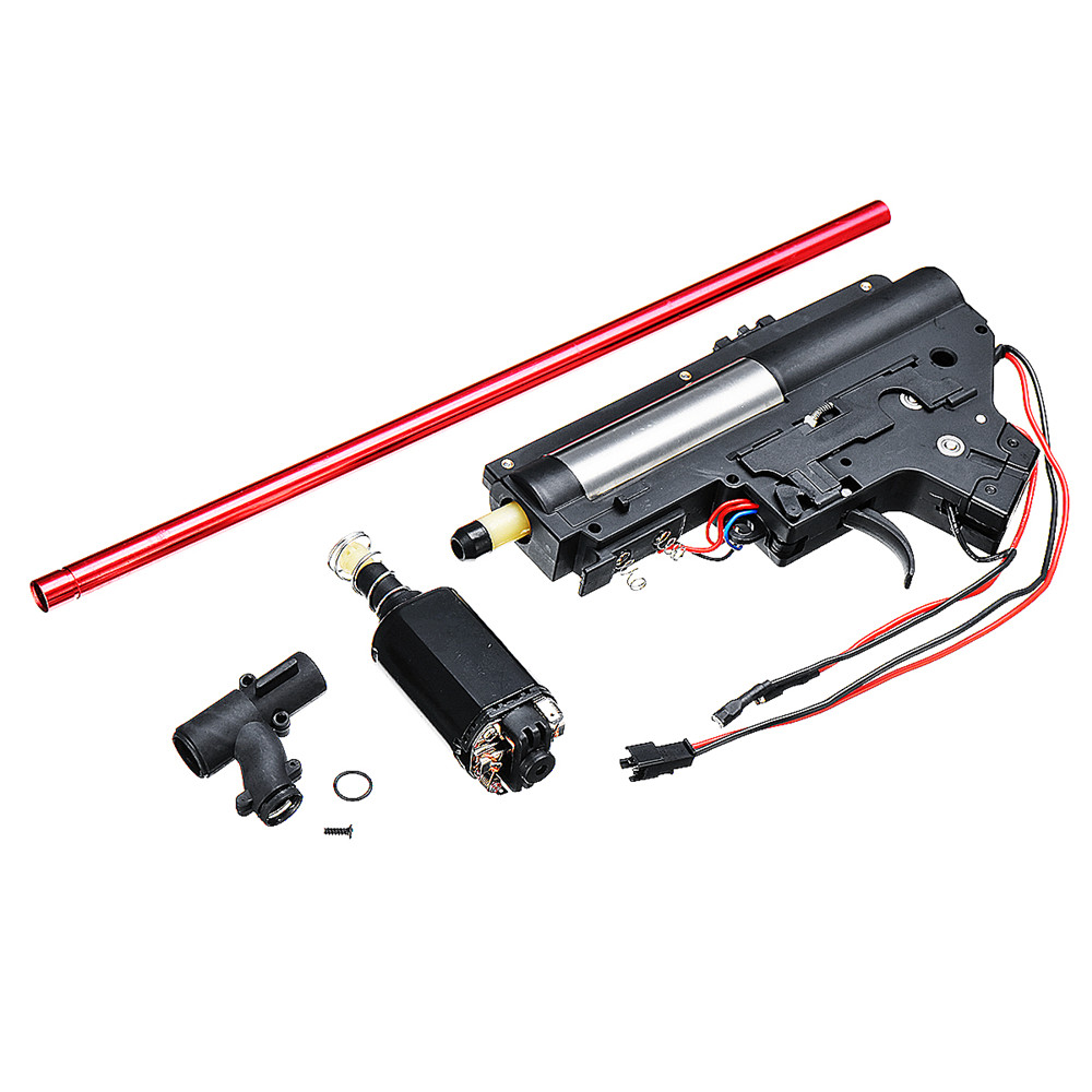 Nylon Ver.2 Gear Box with 480 Motor for Jinming 9th Gen9 LDT416/TTM/556 Gel Ball Blasting Toy Gu n Accessories Kit