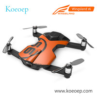 Original Wingsland S6 Pocket Selfie Drone Camera Foldable Quadcopter WiFi FPV With 4K HD Camera In Stock