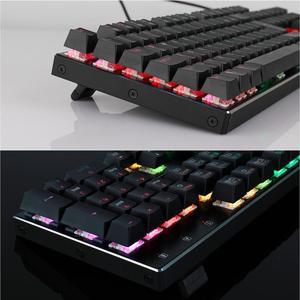 Image 3 - Redragon K556 German Layout Mechanical Gaming Wired Keyboard Brown Switch RGB LED Backlit 104 Standard Keys for Gamer Office