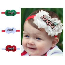 VTOM Baby Girls Christmas Headwear Headbands Princess Headband Children As Gift