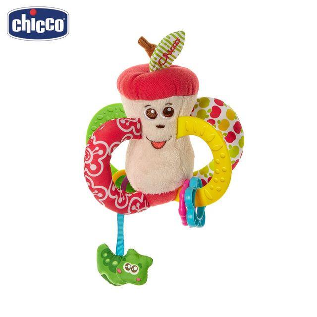 """Игрушка-погремушка Chicco """"Вкусное яблочко"""" 3м+"""