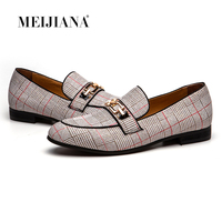 MEIJIANA Leather Men's Shoes Moccasin Men Loafers Brand Casual Shoes Wedding and Party Shoes Spring and Autumn Fashion 2019 New
