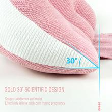 Multi-color Optional Pregnant Pillow Soft Support Pillow Maternity Supplies Belly Pregnancy Back Waist Support Cushion