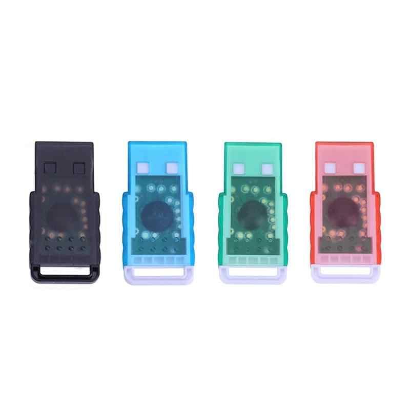 Mini lecteur d'adaptateur de carte mémoire Portable Micro SD à USB 2.0 TF