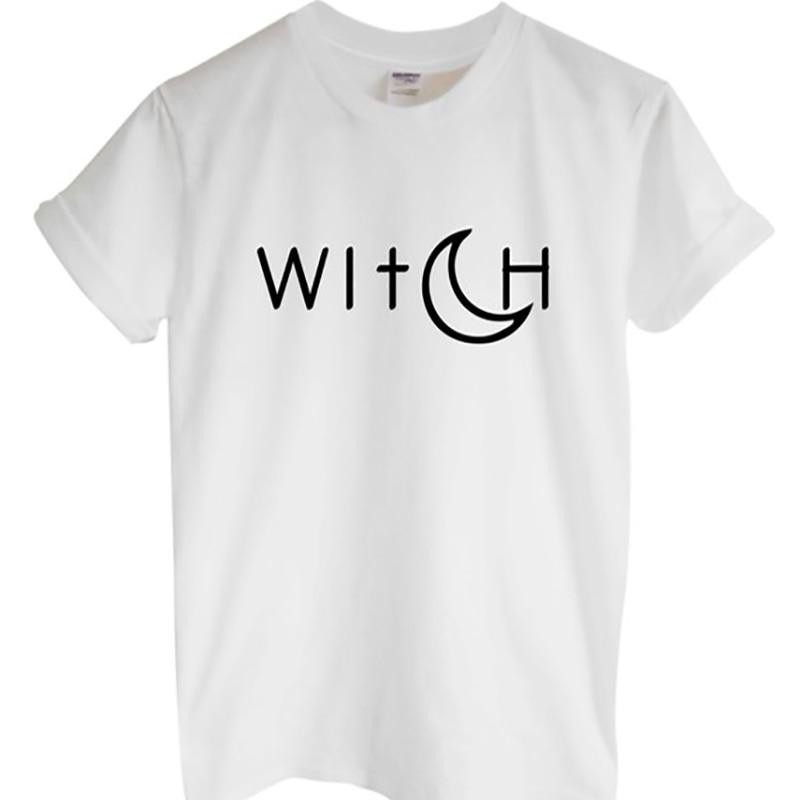 T Shirt Harajuku Tshirt Kawaii T-shirt Plus Size Tops Tumblr Shirts with Moon Graphic Tees Tshirt Women XS-3XL White Black Grey