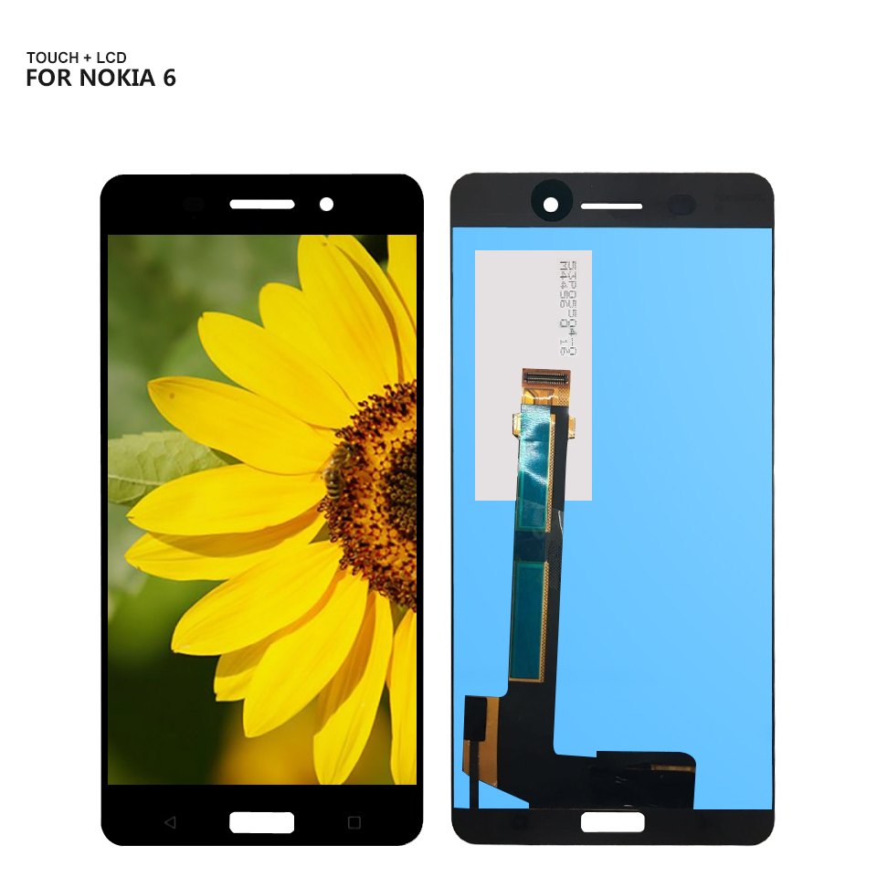 For Nokia 6 N6 LCD Display Digitizer Touch Panel Screen Assembly For TA-1021 TA-1033 TA-1025 LCD ReplacementFor Nokia 6 N6 LCD Display Digitizer Touch Panel Screen Assembly For TA-1021 TA-1033 TA-1025 LCD Replacement
