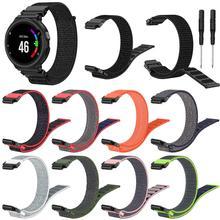 Новинка; Лидер продаж сменный ремешок для наручных часов нейлоновый спортивный браслет ремешок на запястье для Garmin Forerunner 220 230 235 630 620 735 Смарт-часы