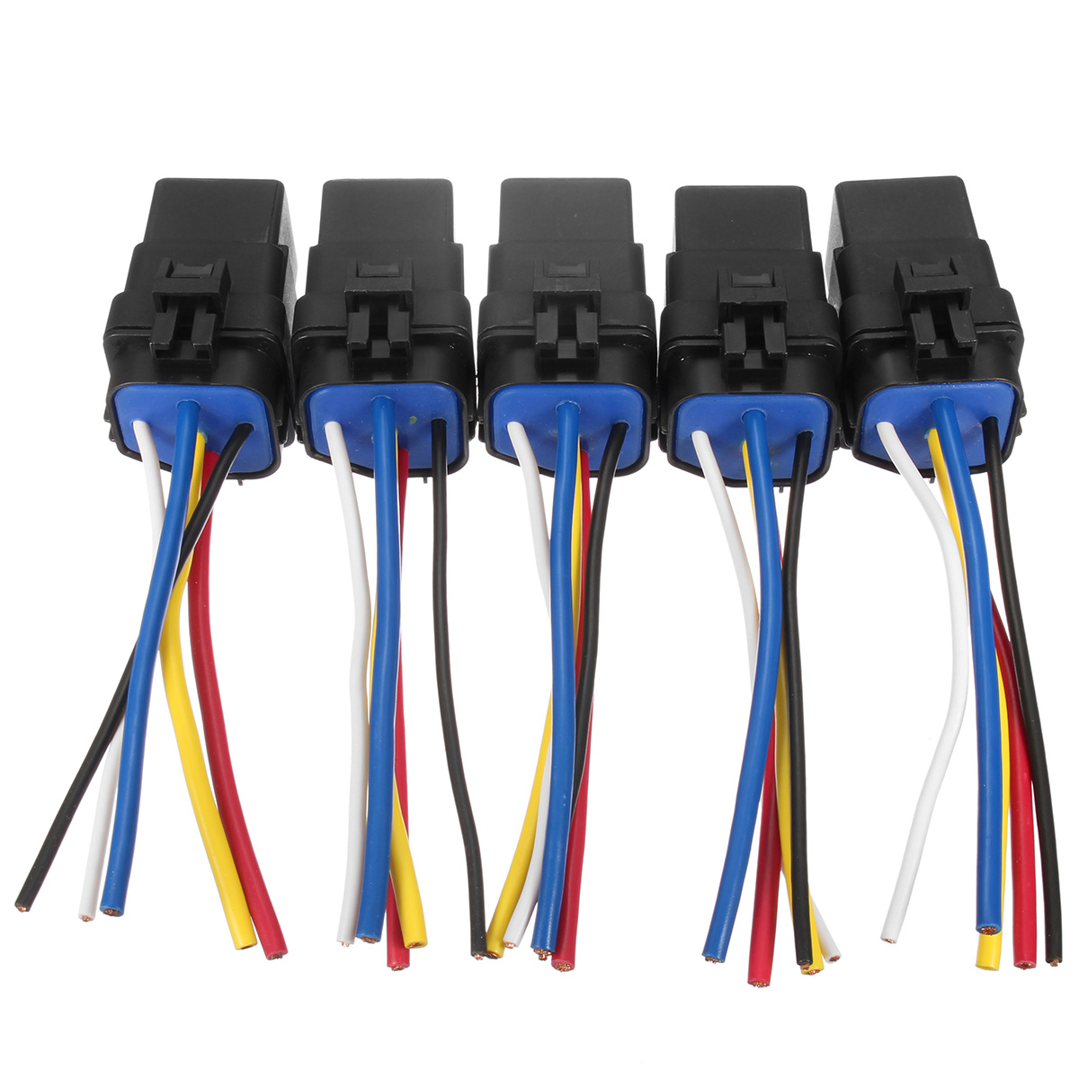 US $18.74 36% OFF|5x Automotive Car Relay Switch Harness 5Pin SPDT on