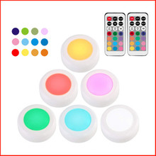 21keys Infrared Remote Control 12 Color Birthday Party Colorful Atmospheric Night Light With Warm Battery Cabinet