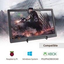 SunFounder 13.3 IPS Di Động Màn Hình 1920x1080 Chơi Game Màn Hình Hiển Thị cho Ps4 Raspberry Pi 4B 3B + 3B wiiU Xbox 360