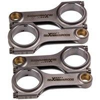 Pleuel Schmale Conrod fit Ford XFlow Lotus twincam BDA BDG 5 23 ARP 4 stücke-in Kolben  Ringe  Stäbe & Teile aus Kraftfahrzeuge und Motorräder bei