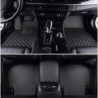 ChiTu custom car floor mats for Mitsubishi Eclipse Cross Lancer Montero Outlander pajero Sport 3D car styling car leather carpet