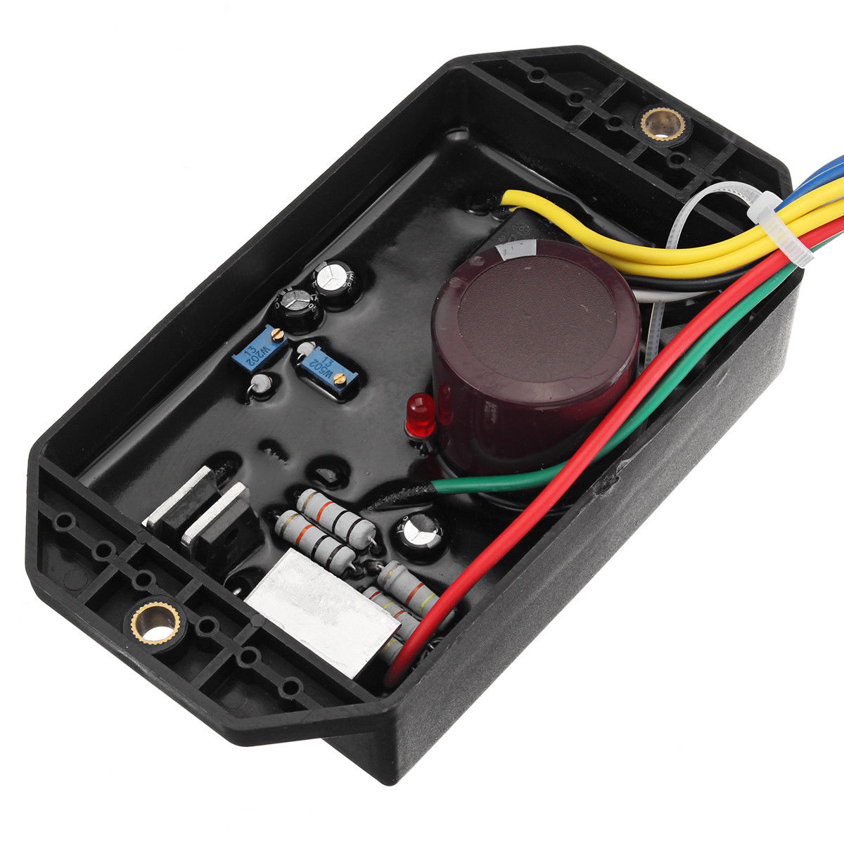 1*Voltage Regulator 5KW Diesel Generator Voltage Regulator AVR for Kipor Kama KDE5000 6500 67001*Voltage Regulator 5KW Diesel Generator Voltage Regulator AVR for Kipor Kama KDE5000 6500 6700