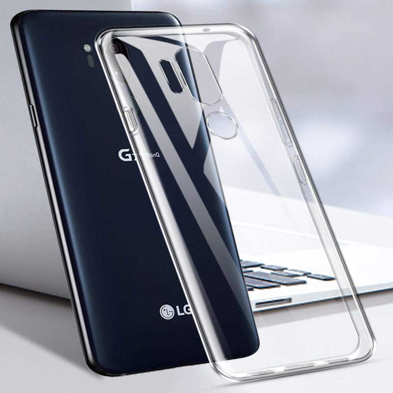Case For LG V20 V30 V40 G6 G7 Fit Q6 Q8 Q7 X Power 3 K40 K10 K8 2018 K4 2017 G2 G3 G4 G5 Clear Soft TPU Case Silicone Cover Capa