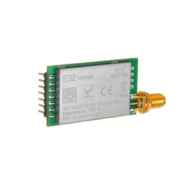 LEORY LoRa SX1276 Thu Phát Không Dây 868 MHz Module E32-868T20D 20dBm UART Iốt 868 MHz SMA SX1278 Thu Phát