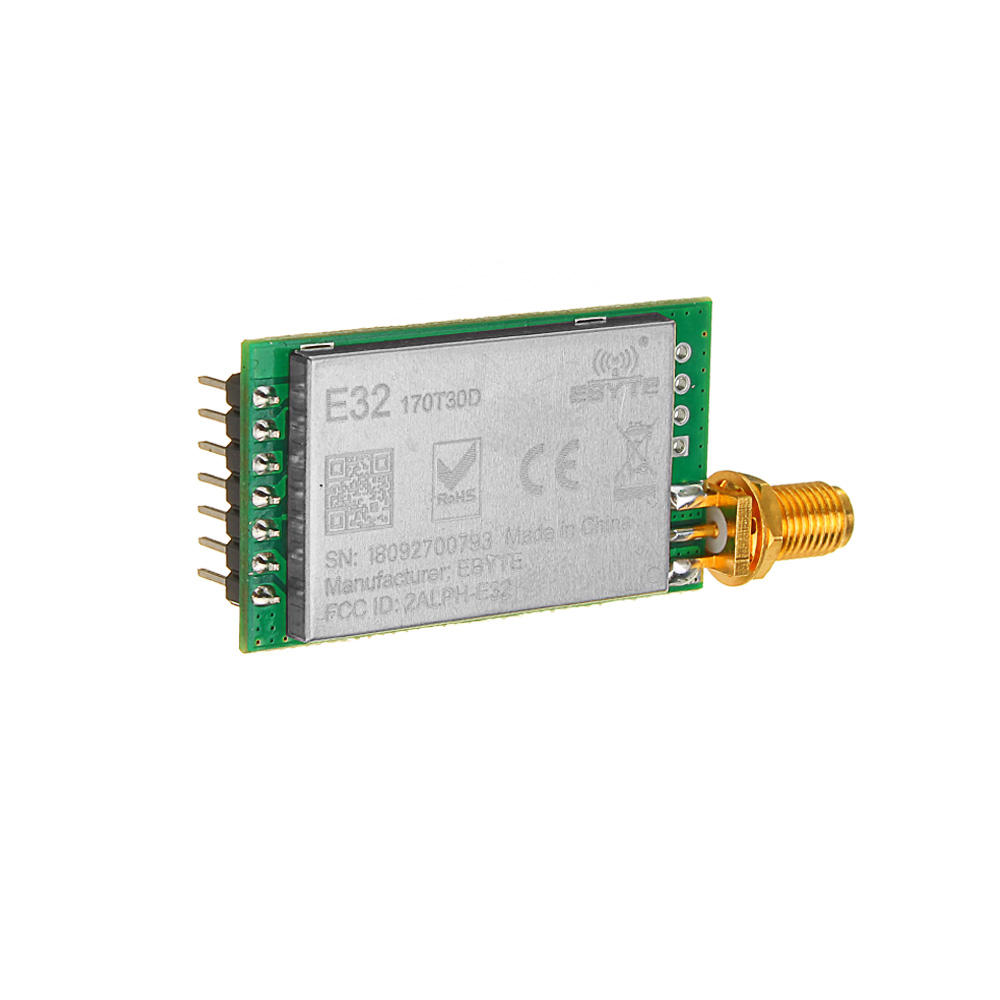 LEORY LoRa SX1276 Wireless Sender Empfänger 868 MHz Modul E32-868T20D 20dBm UART IoT 868 MHz SMA SX1278 Transceiver