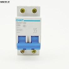 CHNT Chint breaker miniature circuit DZ47-60 C50 2P 50A
