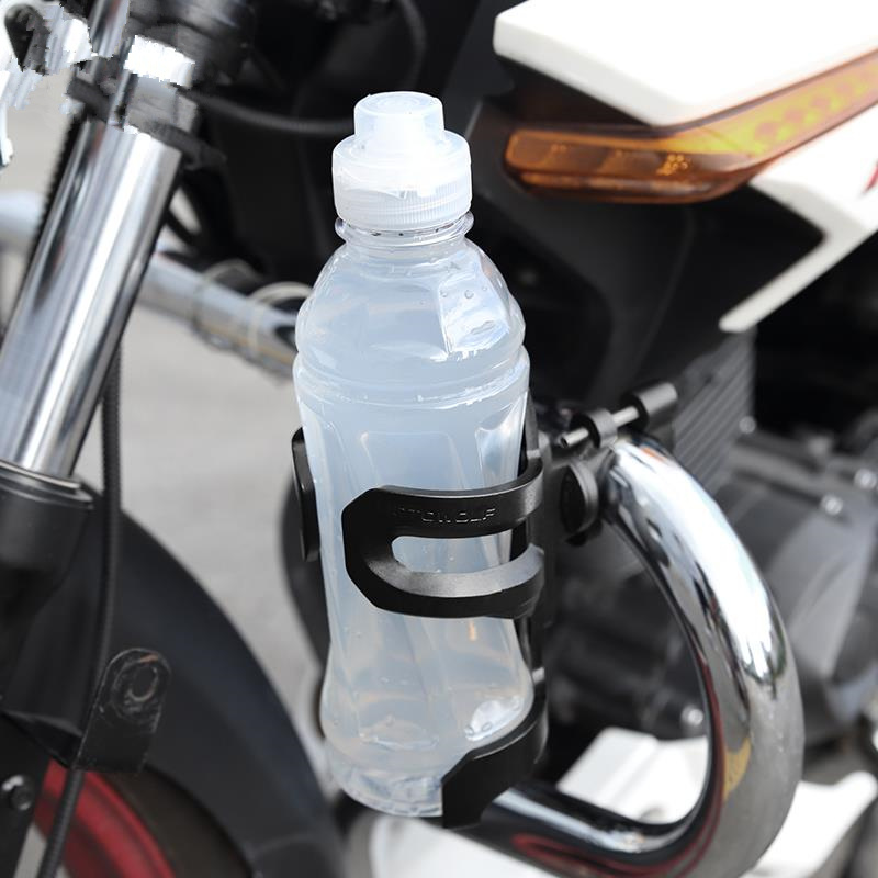 Motorcycle Bike Accessories Crash Bar Water Bottle Motorbike Guard Drinking Cup Bracket Holder For BMW R1200GS F800GS|Covers & Ornamental Mouldings| |  - title=