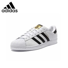 AdidasAuthentic Superstar Classics New Arrival Men's Skateboarding Shoes Anti-Sl
