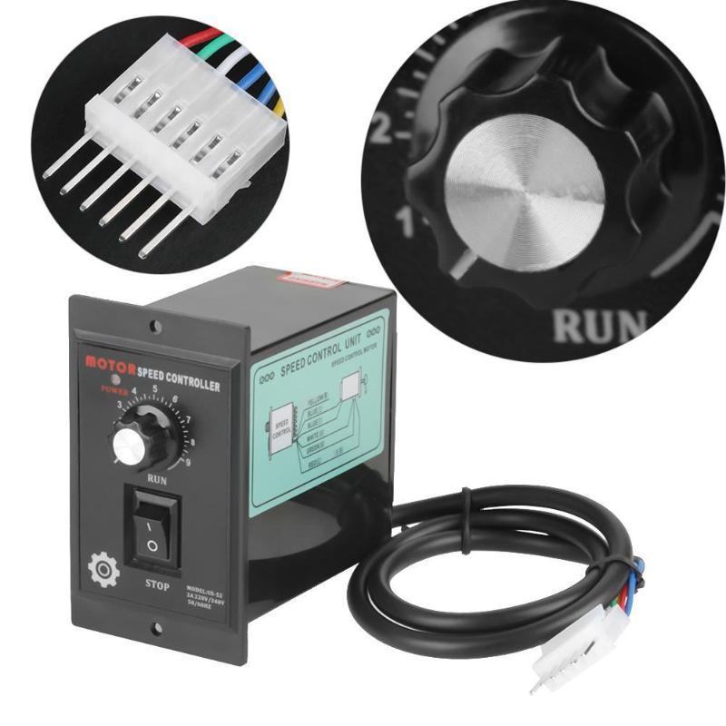 Controlador de velocidad del Motor de CA 400W AC 220V regulador de velocidad del Motor
