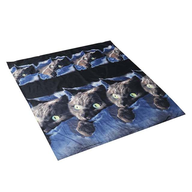 3D Cat Themed Bedding Set