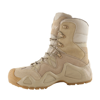 Outdoor Sports High Tops Tactical Boots Spring Autumn Men Women Military Training Climbing Camping Hunting Antiskid Hiking Shoes 3