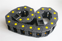 Transmission Chains R55 25x50mm 25x77mm 1M Open On Both Side Plastic Towline Cable Drag Chain For 3D printer Parts
