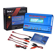 iMAX B6 80W Battery Charger Lipo NiMh Li-ion Ni-Cd Digital RC Balance Charger Discharger with Cables + 15V 6A AC/DC Adapter(China)