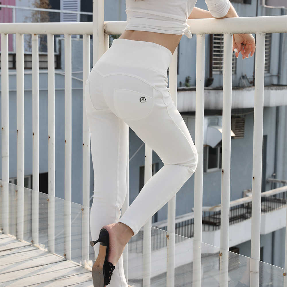 421f54a8546c09 ... Melody knitted wholesale yoga pants skin tight leggings women shaping  effect yoga pants white super high ...