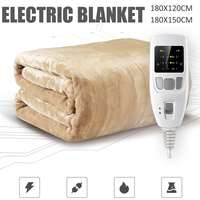 180cm Security Dual Temperature Timing Controller Electric Bed Blanket Household Electric Mattress Soft Mat Warmer Heating Pad