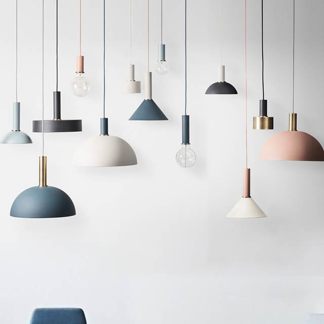 Diy Colorful Nordic Pendant Lights