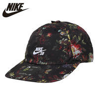 Nike Floral Tennis Hat Fashion Breathable Woman Peaked Cap Sun Hat Original AQ7925