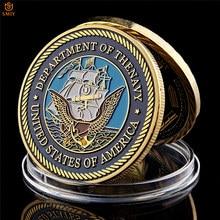 Collection de pièces du concours d'or du département militaire de la marine, grand sceau de l'américaine, pour cadeaux