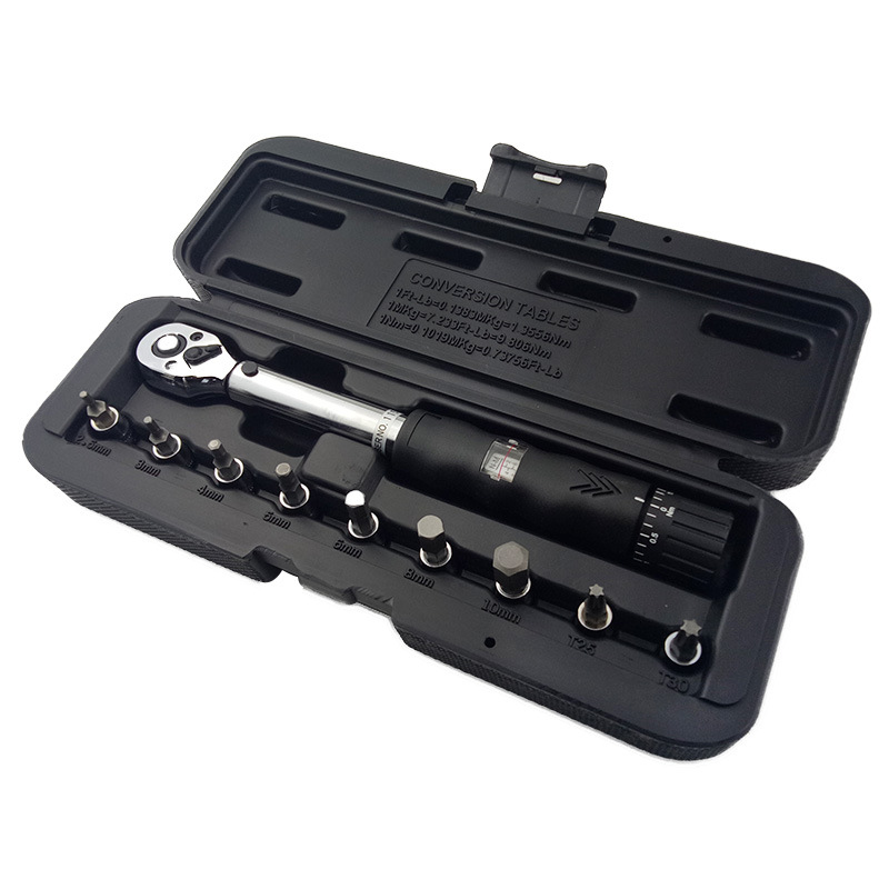 1/4 Window Torque Wrench Set Covered with Vanadium Steel Rotor Console adjustable plumber filter 1/2 auto mechanic