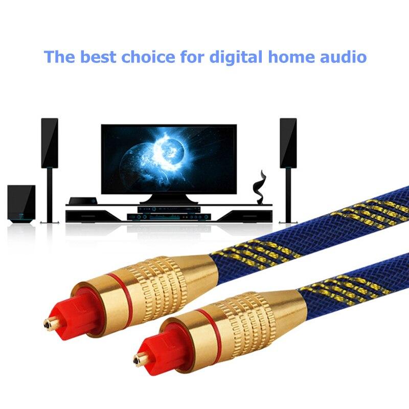 Trumsoon Toslink SPDIF Коаксиальный Кабель Цифровой Оптический Аудио Кабель Шнур для Усилителя DVD