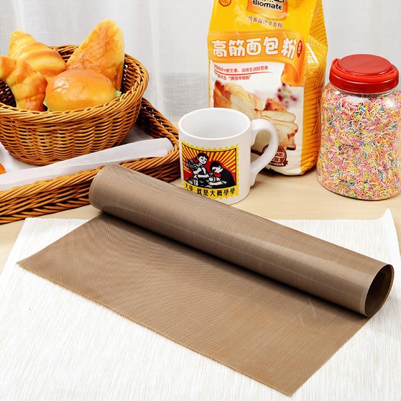 EZLIFE 30 * 40CM Visoko Tempreture Otporan Tkanina Pečenje Mat BBQ Ploča Anti-ulje Tkanina Pečenje Linoleum Ponovna Ulje Papir ZH799