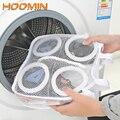 HOOMIN Faul Schuhe Waschen Taschen Waschen Taschen für Schuhe Unterwäsche Bh Schuhe Lüften Trockenen Werkzeug Mesh Wäsche Tasche Schutzhülle Organizer