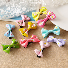 LNRRABC Fashion Bow Hair Accessories Candy Color Mini Sweet Solid Dot Floral Hair Clips Women Hairpins Girls Headwear Butterfly