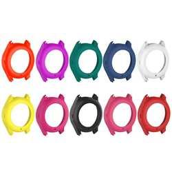 Мягкая силиконовая резина предотвращения царапин прочный несколько Цвет защиты чехол для часов для samsung Galaxy Шестерни S3 классический SM-R770