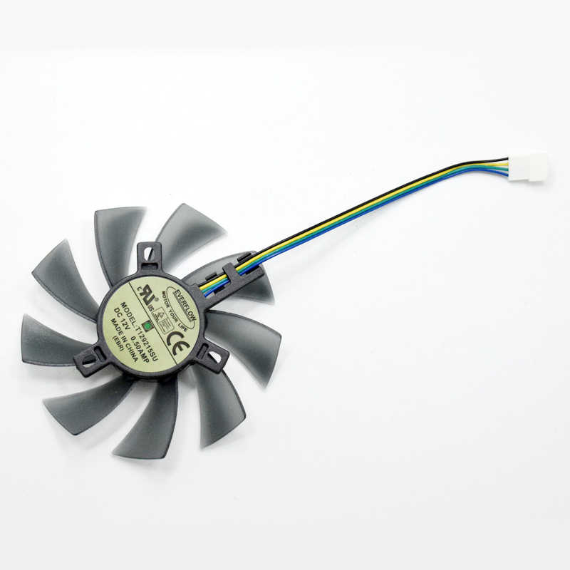 Ventilador enfriador de tarjeta gráfica de 85MM T129215SU para Gigabyte GeForce GTX 1050Ti GTX1060 RX 480 470 570 580 GTX 1060 G1