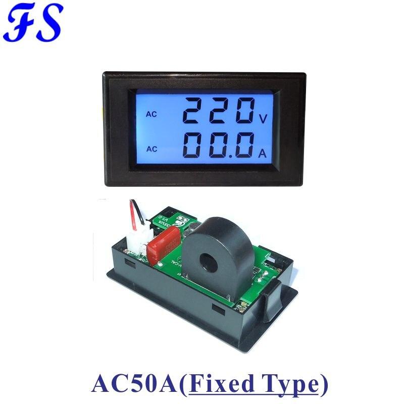 Beautiful Yb5135a Ac Led Digital Current Meter Ampere Meter Ac 200ma 2a 10a 50a 100a 200a 300a 500a Micro Ammeter Milli Amp Meter Icl7107 Measurement & Analysis Instruments