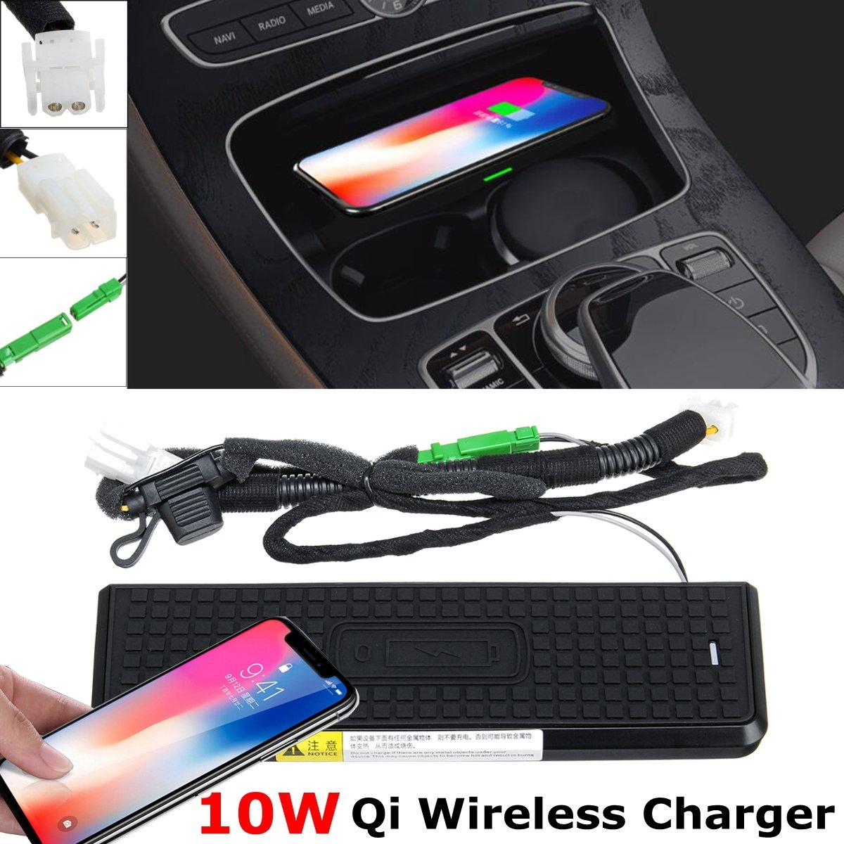 Pour BMW F30 F31 F34 F32 F36 3 4 Series 2013-2018 LHD QI chargeur de téléphone sans fil Console centrale outil de charge sans fil