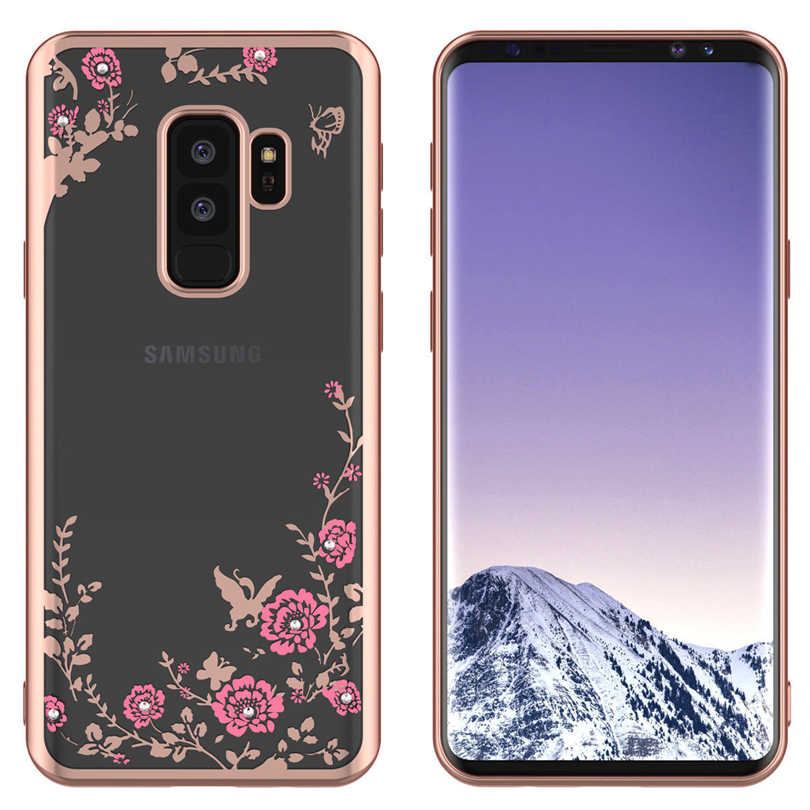 Caso de teléfono para Samsung Galaxy J2 Pro J4 Core J7 DUO de nuevo caso para Samsung J6 J4 Plus 2018 J3 j5 J7 primer 2016 2017 brillo cubierta